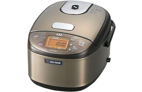 IH炊飯器 極め炊き 3合炊き ステンレスブラウン(NP-GJ05同等品)