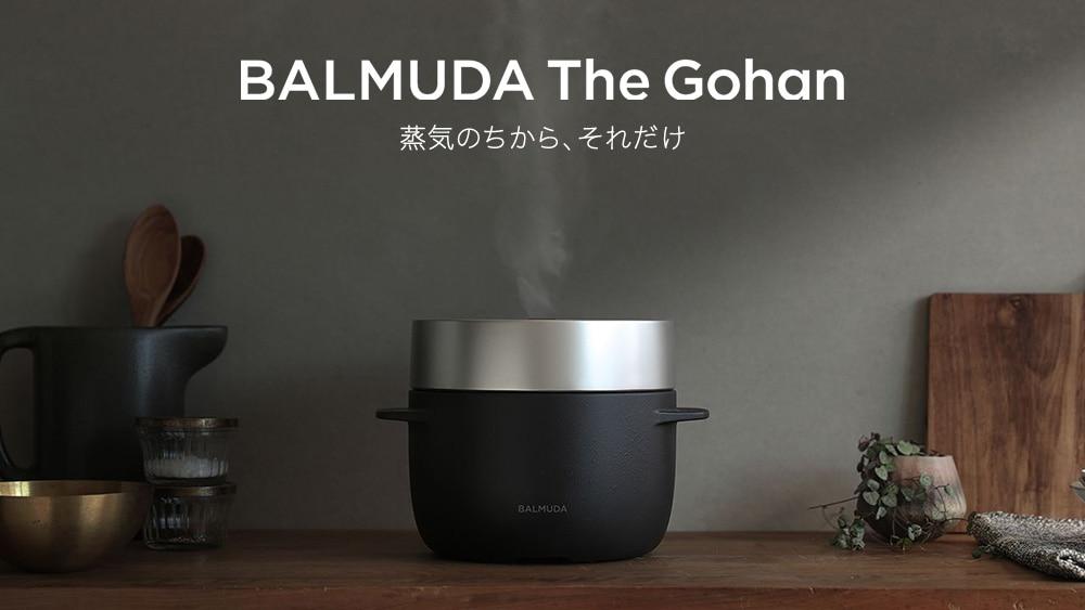 BALMUDA The Gohan,蒸気のちから、それだけ