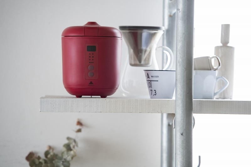 ソフトスチーム米専用小型炊飯器 poddi(ポッディー) 1.5合炊き