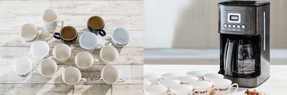 14カップドリップ式コーヒーメーカー ブラックステンレス