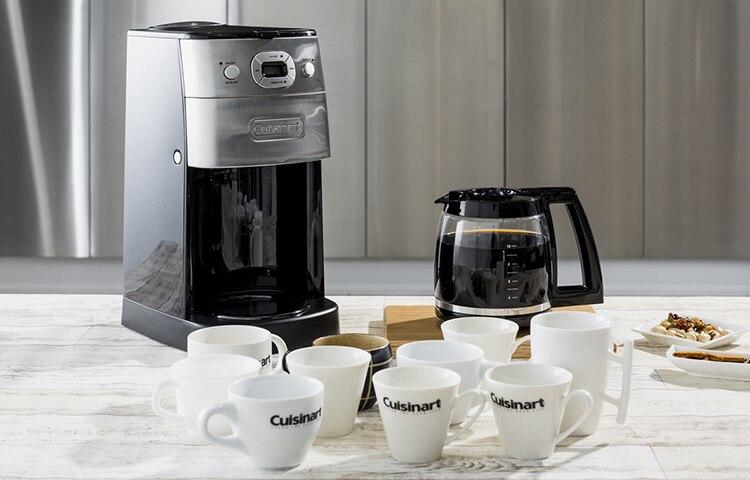 10カップミル付き全自動コーヒーメーカー