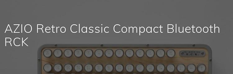 レトロクラシック・コンパクトキーボード