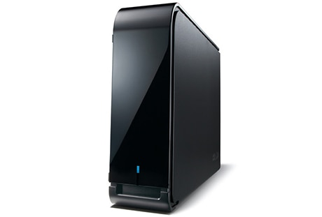 HW暗号機能 USB3.0用外付HDD 4TB