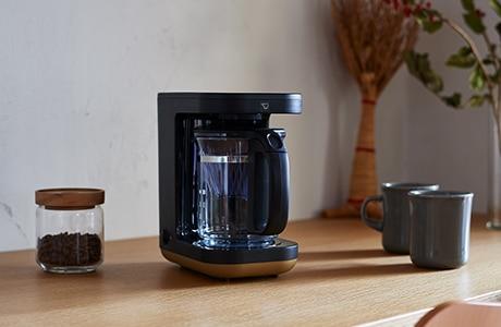 コーヒーメーカー マグカップ2杯分 STAN.シリーズ ブラック