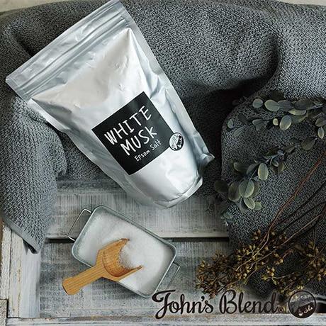John'sBlend エプソムソルト ホワイトムスク&ムスクジャスミン 2種セット