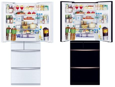 MXシリーズ 6ドア冷蔵庫503L クリスタルホワイト(フレンチドア)【大型商品(設置工事可)】