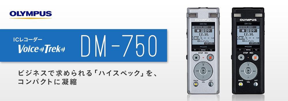 ICレコーダー VoiceTrek DM-750