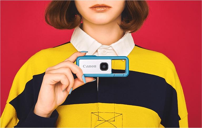 デジタルカメラ iNSPiC REC FV-100 BLUE