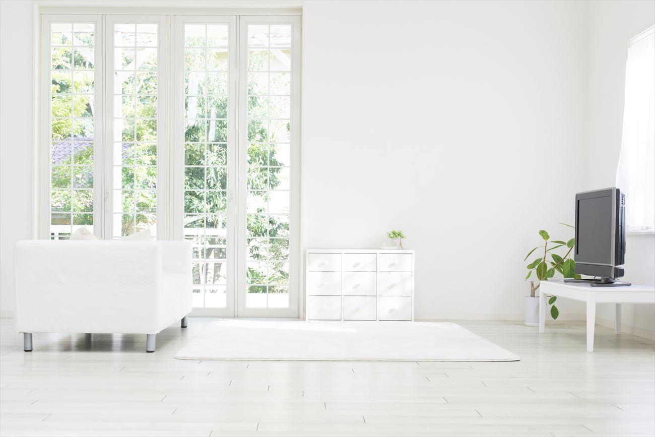 テレビとソファのレイアウト例3:テレビ中心の生活なら、窓の位置を考える