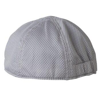 ロゴス ■汗取り帽子 グレー フリー