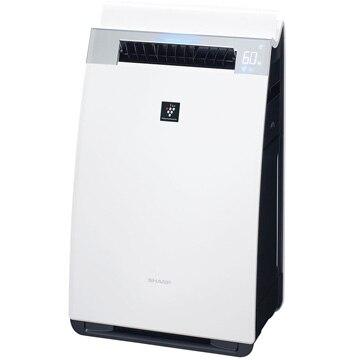 シャープ 加湿空気清浄機 プレミアムモデル プラズマクラスター25000 ホワイト KI-GX75-W