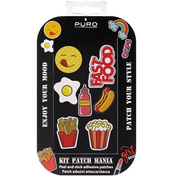 Patch Sticker Kit シールタイプ:Food 7pcs