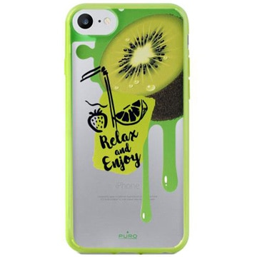 [IPHONEケース] Crystal Cover Lime Green 【対応機種:iPhone6 /6S /7/8】