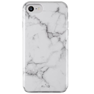 [IPHONEケース] Marble Cover Statuary White 【対応機種:iPhone6 /6S /7/8】