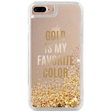 [IPHONEケース] Aqua compatible Gold 【対応機種:iPhone6Plus/6sPlus/7Plus/8Plus】