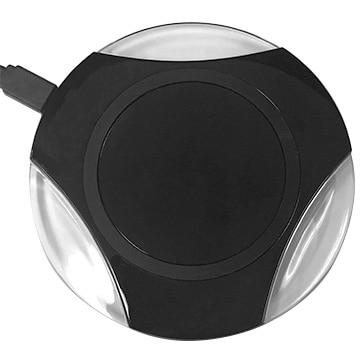 HIDISC 置くだけ急速無線充電器 wireless charger for smartphone ブラック HD-WCP10BK