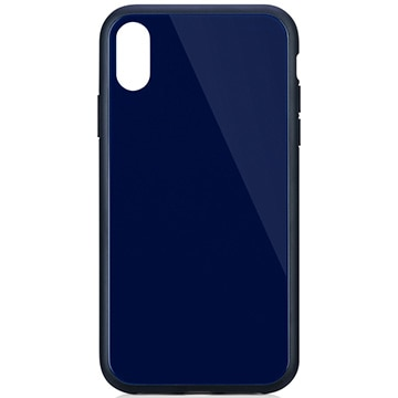 iPhone XR [GLASSICA] 背面ガラスケース(Solid color) ネイビー