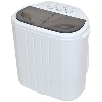 <ひかりTV>【送料無料】小型二槽式洗濯機「別洗いしま専科」2 RCWASHR4