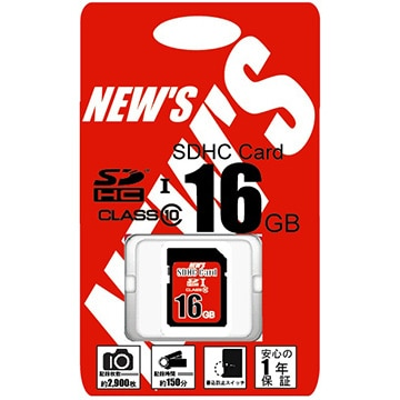 SDHC Card 16GB class10 UHS-1 Speedclass1 Package