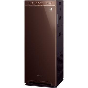ダイキン工業 加湿ストリーマ空気清浄機 スリムタワー型 ディープブラウン MCK55V-T