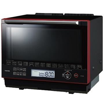 東芝 過熱水蒸気オーブンレンジ 石窯ドーム 30L グランレッド ER-SD3000-R