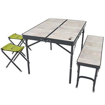 ロゴス ■ROSY ファミリーベンチテーブルセット 73189057