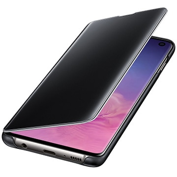 Galaxy S10 Clear View Black