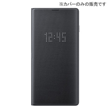 Galaxy S10 LED View Cover Black