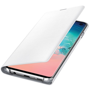Galaxy S10 LED View Cover White