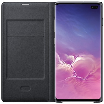 Galaxy S10+ LED View Cover Black