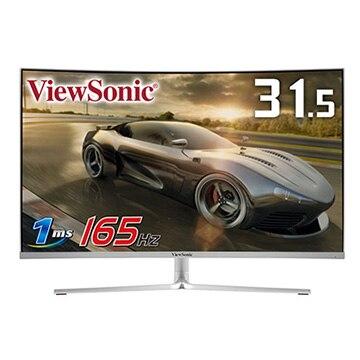 ViewSonic 31.5型カーブ FullHD VAパネル ホワイト VX3258-PC-MHD-W-7