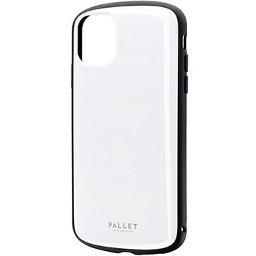 MSソリューションズ iPhone 11 PALLET AIR 耐衝撃ケース ホワイト LP-IM19PLAWH