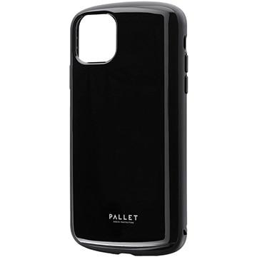MSソリューションズ iPhone 11 Pro Max PALLET AIR 耐衝撃ケース ブラック LP-IL19PLABK