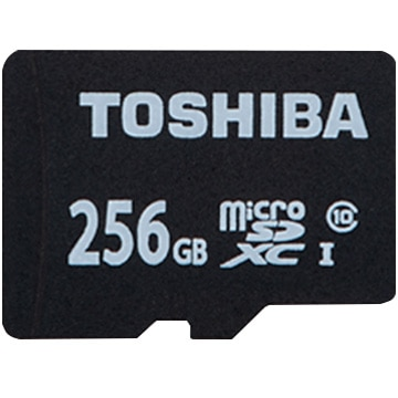 TOSHIBA microSDXCカード 256GB Class10 UHSI対応 5年保証 国内正規品 MSDAR40N256G