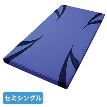 nishikawa ■AiR マットレス ブルー 高反発 厚み8cm セミシングル HC99401634