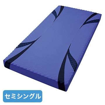 西川 ■AiR ベッドマットレス ブルー 高反発 厚み14cm セミシングル クイーンサイズ対応 HC99601639