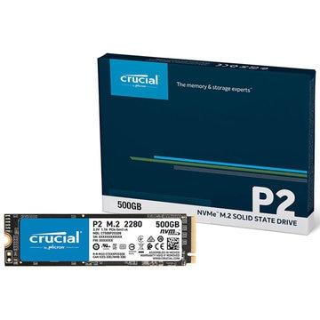 Crucial P2 500GB 3D NAND NVMe PCIe M.2 SSD CT500P2SSD8JP