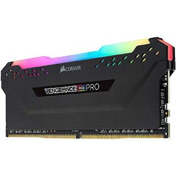 Corsair 内蔵メモリ DDR4 3600MHz 8GB 1x8GB DIMM Unbuffered 18-22-22-42 VENGEANCE RGB PRO 1.35V. for AMD CMW8GX4M1Z3600C18