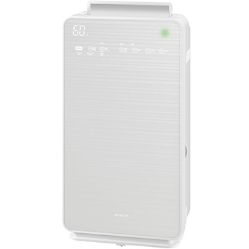 日立 加湿空気清浄機 クリエア パールホワイト EP-NVG90-W