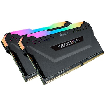 【送料無料】Corsair 内蔵メモリ DDR4 16GB 2 x 288 Vengeance RGB PRO CMW16GX4M2D3600C18