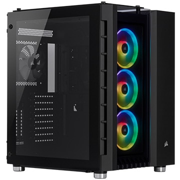 PCケース Crystal 680X RGB Tempered Glass -Black-