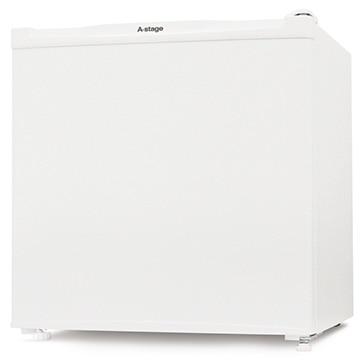 A-Stage 1ドア冷蔵庫 46L ホワイト 【配送のみ設置無し 軒先渡し】 AS-46W