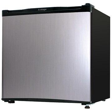 A-Stage 1ドア冷蔵庫 46L シルバー 【配送のみ設置無し 軒先渡し】 AS-46S