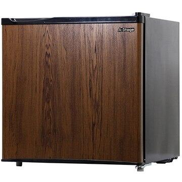 A-Stage 1ドア冷蔵庫 45L 木目調 ダークウッド 【配送のみ設置無し 軒先渡し】 BR-45DW