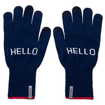 マーモット [アクセサリー][グローブ]<四角友里コラボレーション>W's HELLO Knit Glove / ウィメンズハローニットグローブ ネイビー ONEサイズ TOCPJD74YY/NV/ONE