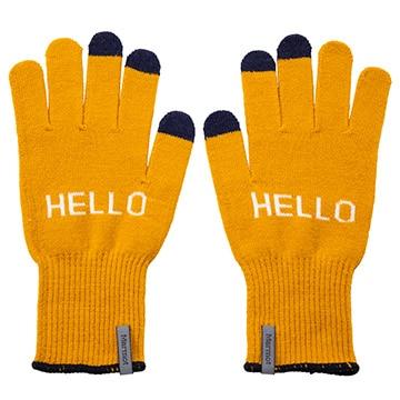 マーモット [アクセサリー][グローブ]<四角友里コラボレーション>W's HELLO Knit Glove / ウィメンズハローニットグローブ イエロー ONEサイズ TOCPJD74YY/YL/ONE