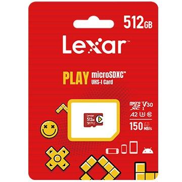 Lexar PLAY microSDXCカード 512GB (日本語パッケージ) LMSPLAY512G-BNNNJ