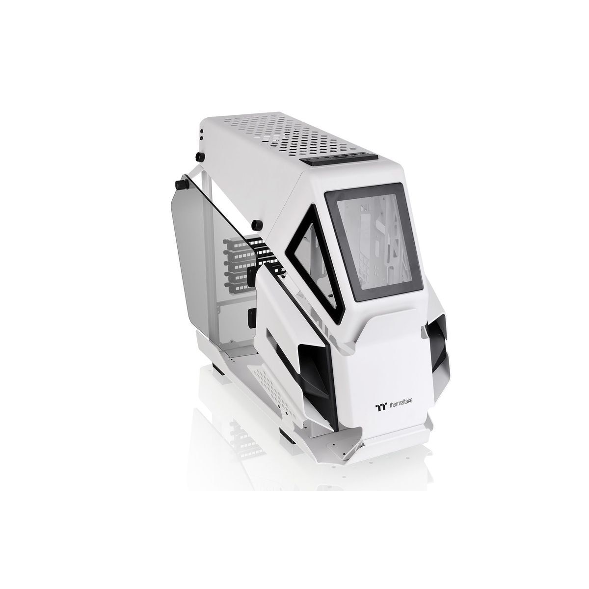 Thermaltake PCケース AH T200 Snow Edition CA-1R4-00S6WN-00