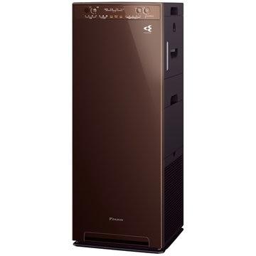 ダイキン 加湿ストリーマ空気清浄機 ディープブラウン MCK55X-T
