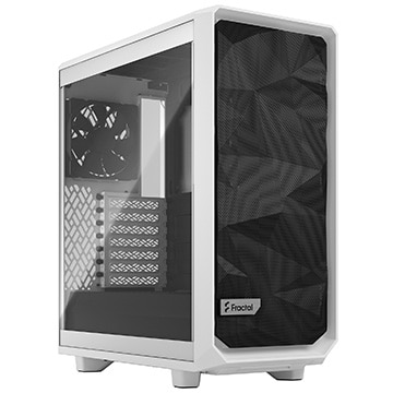 Fractal Design PCケース Meshify 2 Compact White TG Clear Tint FD-C-MES2C-05